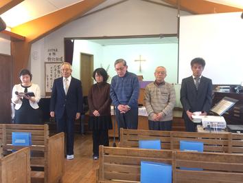 2017/04/09  執事任職式