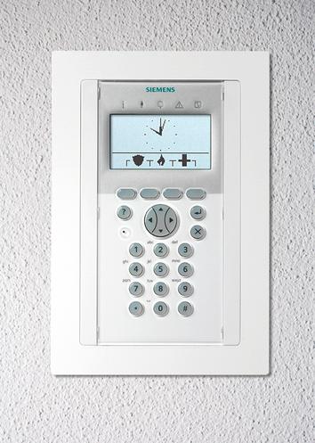 Unterputz Montageset für das Komfort Bedienteil SPCK620/623 sowie SAK84/94 presented by SafeTech