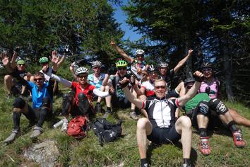 Trail freaks, mtb-tour, Freude