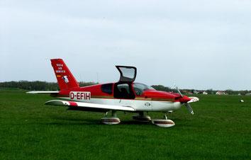 Das erste Flugzeug der Firma Wega-Air-Service