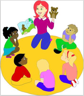 EFL kindergarten lesson, 幼稚園レッスン