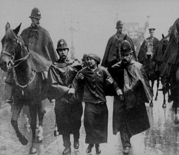 Suffragette og rådssocialist  Sylvia Pankhurst