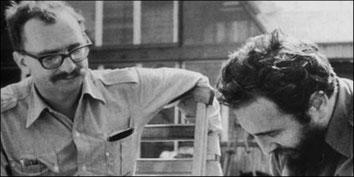 Giancomo Feltrinelli og Fidel Castro