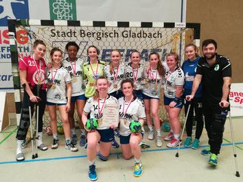 TuS Kreismeister A-Mädchen 2018-2019