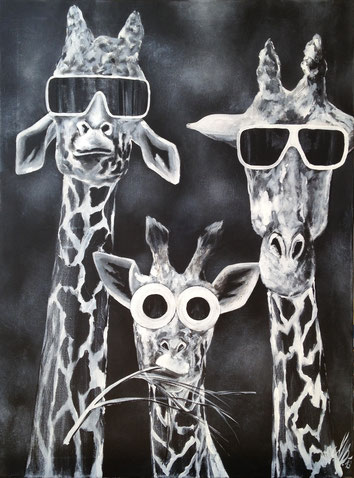 """""""Peter, Paul and Mary"""", 2013,  acrylic on canvas, 60x80"""