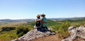 Auf dem 'Gipfel' des Cerro Arequita