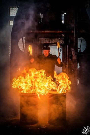 Feuertrommeln