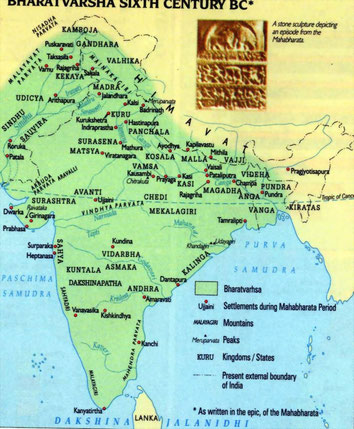Indien im 6.Jahrhundert