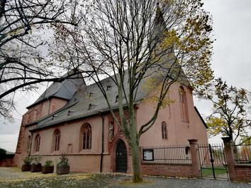 Eglise Justinus Höchst Francfort