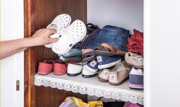 Los niños tienen otras necesidades de almacenaje para su ropa - AorganiZarte