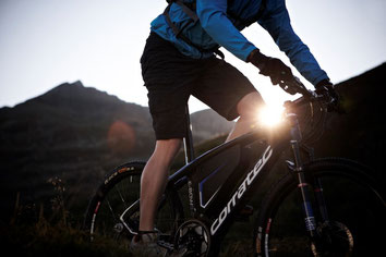 Corratec e-Bikes und Pedelecs in der e-motion e-Bike Welt im Harz