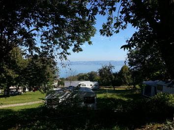 Emplacements de Lugrin, vue sur le Lac Leman