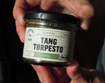 Produkt Tang-Pesto von Nordisk Tang. Foto: Christoph Schumann