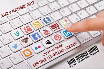 Atelier multimédia – Bureau information jeunesse de Vélizy-Villacoublay.