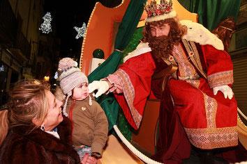 Fiestas en Valls Cabalgata de Reyes