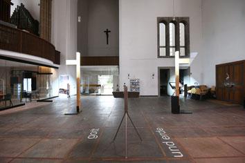 Die Orgel bleibt für die Gemeindegottesdienste der Pfarrei. Tabgha setzt eher auf moderne Live-Musik junger Musiker. (Foto: Oliver Müller / Bistum Essen)