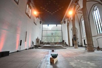 Platz und Licht: So präsentiert sich jetzt die Josephskirche als Jugendkirche Tabgha. (Foto: Oliver Müller / Bistum Essen)