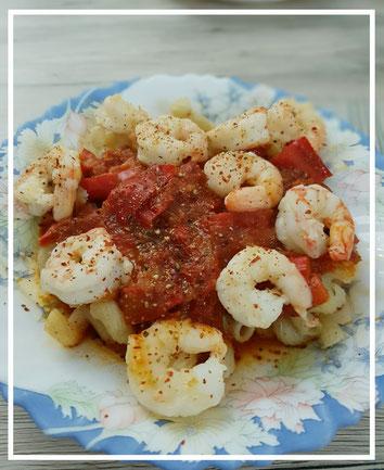 Tomaten-Paprika-Salsa