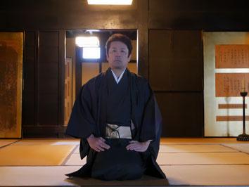十市県主今西家 当主 今西啓仁 The Imanishi of Tochiagatanushi clan head of a clan Keiji Imanishi