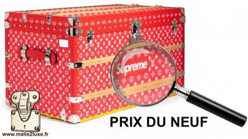 price trunk of new Louis Vuitton supreme