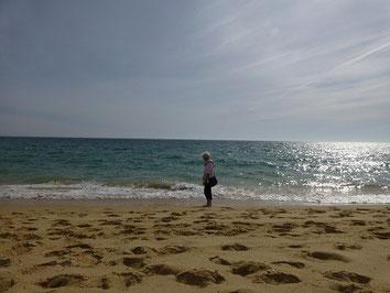 so viel Sand! So viel Sonne!