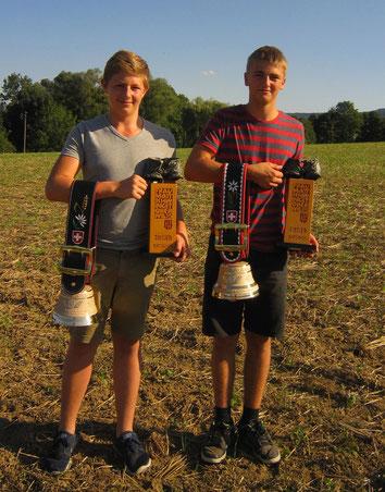 Unsere zwei Sieger Van Messel Noe und Meier Daniel