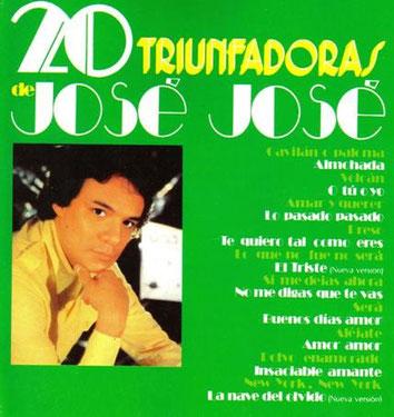Jose Jose – 20 Triunfadoras