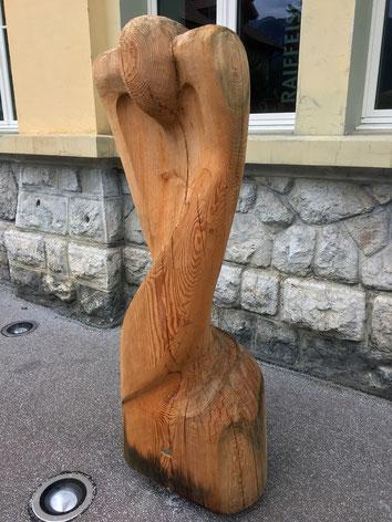 Skulptur von Nazih Rashid, Symposium 2017