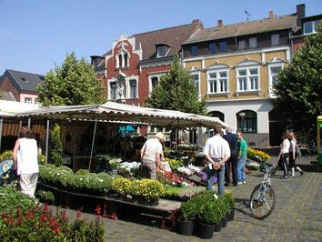 Marktplatz Erftstadt-Lechenich   Wochenmarkt   Minigolf Rhein-Erft-Kreis