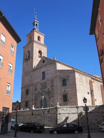 Iglesia santa maría la antigua, virgen de la antigua, vicálvaro