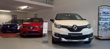 Autowerkstatt Renault Oeffnungszeiten der Garage Stocker in Muttenz