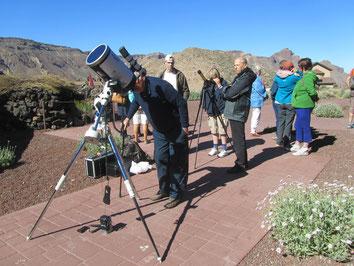 Zonnewaarnemingen, Tenerife mei 2015