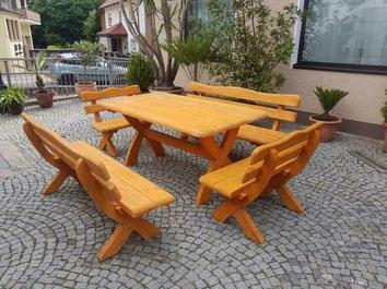 Rustikale Gartenmöbel Dekokistewernigerode