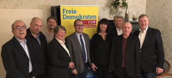 Die FDP Bad Neuenahr-Ahrweiler hat einen neuen Vorstand gewählt.