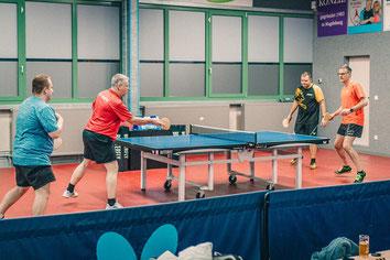 Dieter Wickenkamp und Fabio Deckert harmonierten im Laufe des Spieles immer besser und sicherten sich den verdienten 3. Platz.