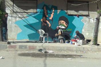 Still recording de Saeed Al Batal et Ghiath Ayoub