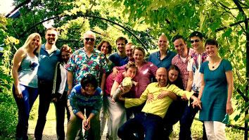 Mittagspause bei unserer Berliner Bewusstseinspartie