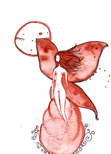 Mariposa · Arte Menstrual · JuliaRo