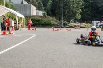 Nach der finalen Zieldurchfahrt: Platz 3 im Rennen bedeutete auch Platz 3 in der Gesamtwertung für Andreas Prautsch.