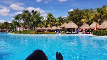 Reiseziel Karibik Mexico Pool im Hotel