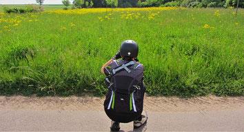 Beim Radeln die Natur genießen