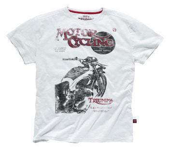 T-Shirt, Retro Triumph, München, Motorrad
