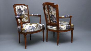 marylinegrac- tapissier d'ameublement-Fauteuils. Rénovation complète.