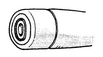 フリーペン軸の溝の形状