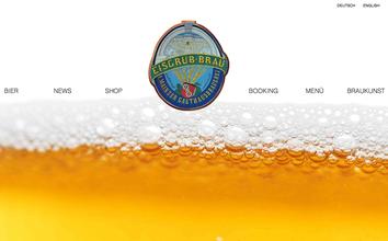 Webseite zum Eisgrub Bräu