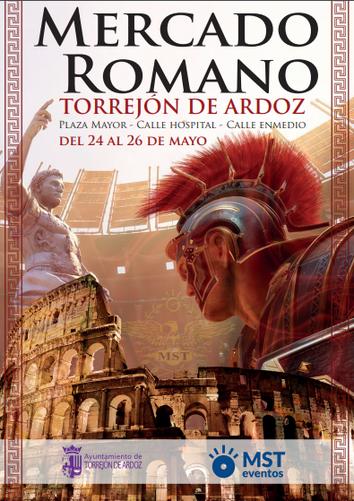 Fiestas en Torrejon de Ardoz Mercado Romano