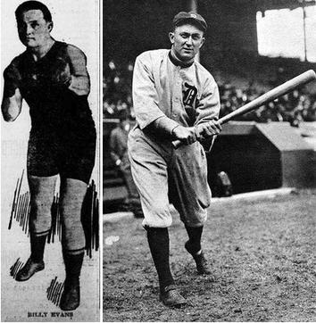 Billy Evans e Ty Cobb