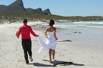 Strandhochzeit auf der Kap Halbinsel!
