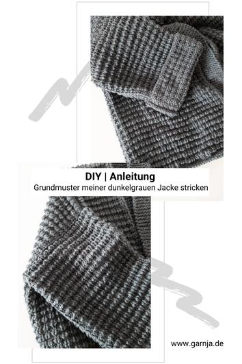 DIY | Anleitung Halbpatentmuster stricken