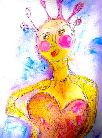 Drawing by Shelley Klammer